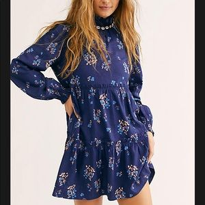 Free People Petit Fours Mini Dress size L